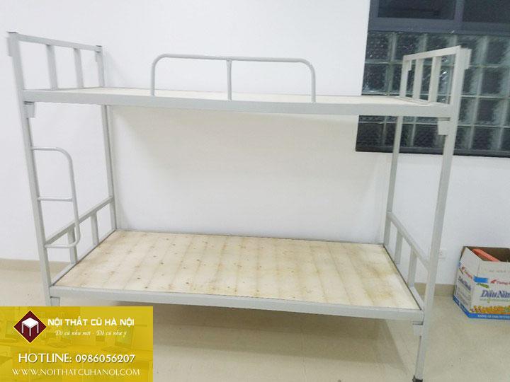 Giường tầng sắt thanh lý hàng đặt làm tại TP Hà Nội