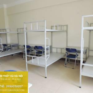 Giường tầng sắt thanh lý hàng đặt làm tại Hà Nội