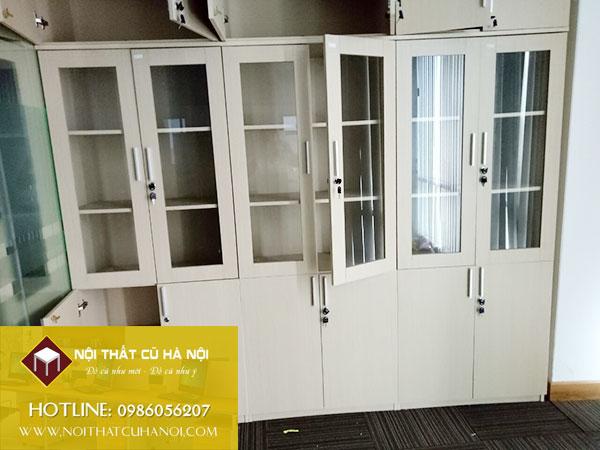 Thanh lý tủ sắt, tủ locker, tủ tài liệu văn phòng