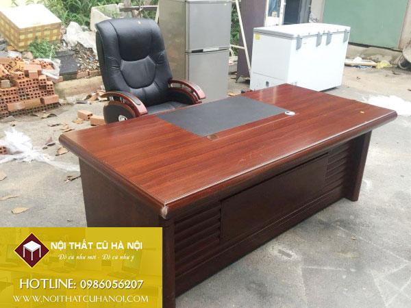 Thanh lý Bàn giám đốc, Ghế giám đốc giá rẻ Hà Nội | Đẹp - Mới 99.9%