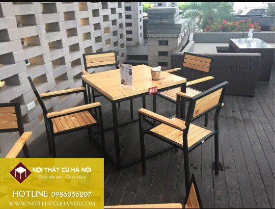 Thanh lý bàn ghế quán cafe - bar giá rẻ tại Hà Nội