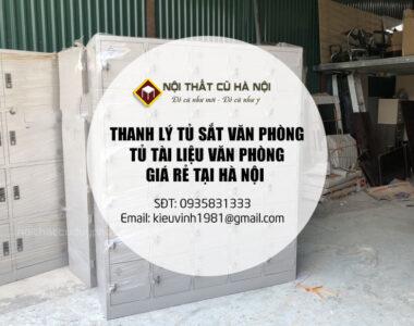 Thanh Lý Tủ Sắt Quần Áo, tủ locker, tủ tài liệu văn phòng giá rẻ tại Hà Nội